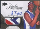 2007/08 Exquisite Collection #92 Al Thornton Rookie Patch Auto #132/225