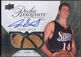 2007/08 Exquisite Collection #88 Jason Smith Rookie Patch Auto #117/225