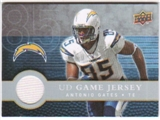 2008 Upper Deck First Edition Jerseys #FGJAG Antonio Gates