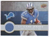 2008 Upper Deck First Edition Jerseys #FGJRW Roy Williams WR