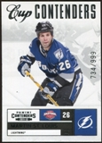 2011/12 Panini Contenders #136 Martin St. Louis CC /999