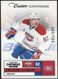 2011/12 Panini Contenders #174 Frederic St-Denis 883/999