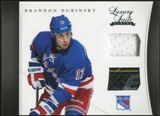 2011/12 Panini Luxury Suite #15 Brandon Dubinsky Jersey Stick