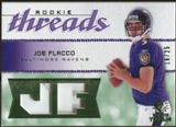 2008 Upper Deck SP Rookie Threads Rookie Threads Patch 25 #RTJF Joe Flacco /25