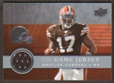 2008  Upper Deck Game Jerseys #UDGJBE Braylon Edwards
