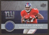 2008  Upper Deck Game Jerseys #UDGJBJ Brandon Jacobs