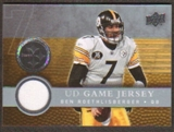 2008  Upper Deck Game Jerseys #UDGJBR Ben Roethlisberger