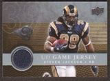 2008  Upper Deck Game Jerseys #UDGJSJ Steven Jackson