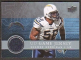 2008  Upper Deck Game Jerseys #UDGJSM Shawne Merriman