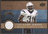 2008 Upper Deck Game Jerseys Gold #UDGJAC Antonio Cromartie /200