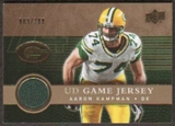 2008 Upper Deck Game Jerseys Gold #UDGJAK Aaron Kampman /200