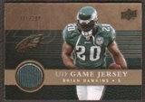 2008 Upper Deck Game Jerseys Gold #UDGJBD Brian Dawkins /200