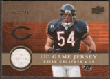 2008 Upper Deck Game Jerseys Gold #UDGJBU Brian Urlacher /200