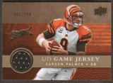 2008 Upper Deck Game Jerseys Gold #UDGJCP Carson Palmer /200