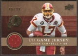 2008 Upper Deck Game Jerseys Gold #UDGJJC Jason Campbell /200