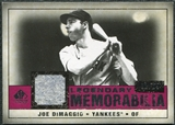 2008 Upper Deck SP Legendary Cuts Legendary Memorabilia Red #JD Joe DiMaggio 2/25