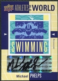 2011 Upper Deck World of Sports Michael Phelps Autograph #AW-MP!