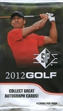 2012 Upper Deck SP Golf Retail Pack