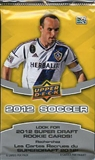 2012 Upper Deck Soccer Retail Pack