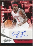 2012/13 Panini Absolute #206 Courtney Fortson Autograph 340/399