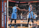 2012/13 Panini Threads Talented Twosomes #1 Kevin Durant/Russell Westbrook