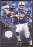 2008 Upper Deck Team Colors Jerseys Gold #TCPM Peyton Manning /299