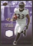 2008 Upper Deck Team Colors Jerseys Gold #TCWM Willis McGahee /299
