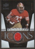 2008 Upper Deck Icons Legendary Icons Jersey Silver #LI14 Roger Craig /150