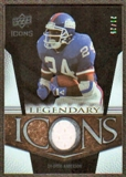 2008 Upper Deck Icons Legendary Icons Jersey Gold #LI15 Ottis Anderson /25