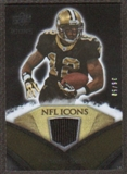 2008 Upper Deck Icons NFL Icons Jersey Gold #NFL23 Marques Colston /50