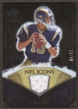 2008 Upper Deck Icons NFL Icons Jersey Gold #NFL32 Marc Bulger /50