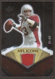 2008 Upper Deck Icons NFL Icons Jersey Gold #NFL35 Kurt Warner /50