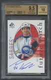 2005/06 SP Authentic #139 Thomas Vanek Rookie Auto #087/999 BGS 9.5