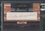 2011 Donruss Limited Cuts #27 Billy Herman Auto #49/49