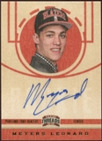 2012/13 Panini Threads #211 Meyers Leonard Autograph
