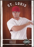 2011 Panini Limited #5 David Freese 185/249