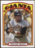 2013 Topps 1972 Topps Minis #TM42 Willie Mays