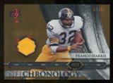 2008 Upper Deck Icons NFL Chronology Jersey Gold #CHR5 Franco Harris /50