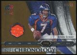 2008 Upper Deck Icons NFL Chronology Jersey Gold #CHR23 John Elway /50