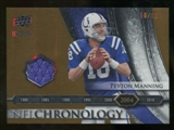 2008 Upper Deck Icons NFL Chronology Jersey Gold #CHR33 Peyton Manning /50