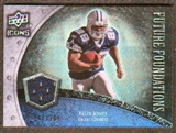 2008 Upper Deck Icons Future Foundations Jersey Silver #FF13 Felix Jones /199