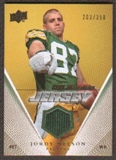 2008 Upper Deck Rookie Jerseys Gold #UDRJBB Brian Brohm /350