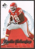2008 Upper Deck SP Authentic #185 Branden Albert /999