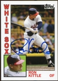 2012 Topps Archives Autographs #RK Ron Kittle