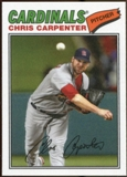 2012 Topps Archives Cloth Stickers #CC Chris Carpenter