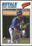 2012 Topps Archives Cloth Stickers #EH Eric Hosmer