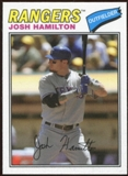 2012 Topps Archives Cloth Stickers #JH Josh Hamilton
