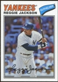 2012 Topps Archives Cloth Stickers #RJ Reggie Jackson