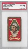 1909-11 Gold Border Eddie Collins Closed Mouth PSA 4 (VG-EX) *1887