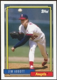 2012 Topps Archives #221 Jim Abbott SP